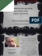 La Investigacion Accion en Educacion John Eliot