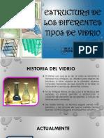 Estructura Del Vidrio