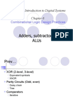 Adder and subtractor