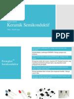 Semiconductive keramik ppt