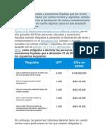 Las personas naturales y sucesiones ilíquidas que por el año gravable 2018 cumplan con ciertos montos y requisitos.docx