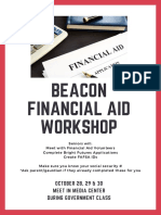 BEACON Financial Aid Workshop
