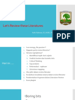 PDIM Unand - Literature Review