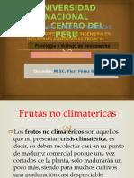 frutas no climaterios