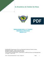 Regras Oficiais Modalidade Bola 12 Toques Edição 2016