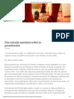 Una Mirada Marxista Sobre La Prostitución _ LIT-CI