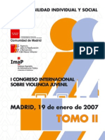 i Congreso Internacional Violencia Juvenil Tomo2