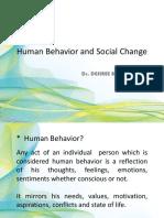 Human Behavior and Social Change 1