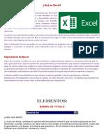 Qué Es Excel