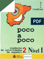 Poco a Poco Nivel i Cuaderno 2