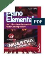Muestra Piano Elemental Serie Piano Vol1 E Book