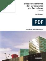 Luces y sombras del urbanismo de Barcelona - Jordi Borja