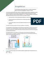 Celdas Electroquímicas y Electrodeposición