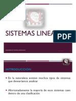 Sistemas Lineales-presentación