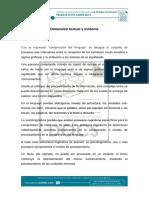 4. Dimensión Textual y Evidente