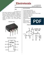 15 Amplificador LM386N 4