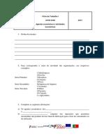 Ficha de Trabalho UFCD 6700