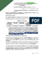 Convocatoria DE LICITACION PEMEX