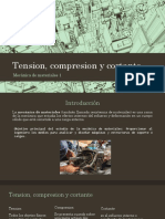 Tension, Compresion y Cortante