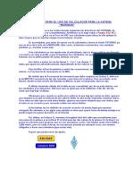Instrucciones Calculadora Antena Morgain - Ea3eae