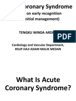 Acut coronary syndrome