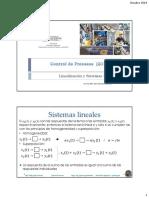 Sistems Lineales Dinámicos SLD y Linealizacion