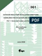 361 - 518 - Guia Para Seleção e Dimenssionamento de Isoladores Para Área de Poluição - Parte1