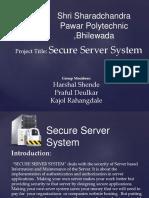 Secure Server System