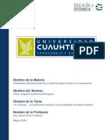 Ensayo - La Institucion Escolar y Los Pr (1)