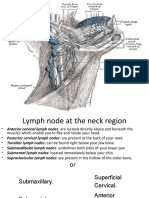 Lymph Node at Neck Region