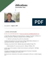 Publications Teun a Van Dijk
