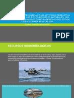 Regulación de La Pesquería Como Actividad Productiva Que