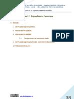 UNIDAD 3  EQUIVALENCIA FINANCIERA (GESTIÓN FINANCIERA)