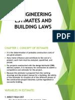 Concept of Estimate-concrete