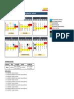 Calendário captação