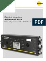 ES - Manual de Instrucciones MultiControl Online