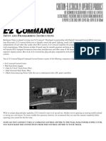 E-Z Command Instructions