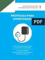 Protocolo de atención odontológica a paciente hipertensos