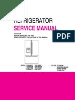 LG REfrigerator LFX2596
