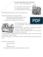 Deductive Reasoning Worksheet