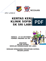 Paperwork Klinik Sofbol 2019 April