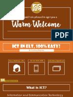 ICT in ELT, 100% easy!