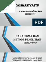 Paradigma Dan Metode Penelitian