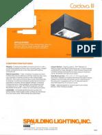 Spaulding Lighting Cordova III Spec Sheet 4-86