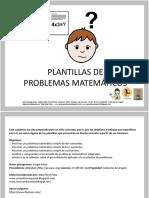 Cuaderno Matematicas 2 Plantillas Problemas Matematicos