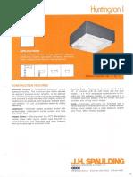 Spaulding Lighting Huntington I Spec Sheet 6-79