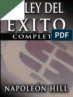 La Ley Del Exito (the Law of Su - Napoleon Hill (1)