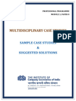 Sample Case Studies Mcs