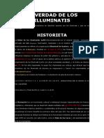 La Verdad de Los Illuminatis