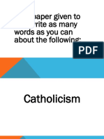 Apostle's Creed PPT